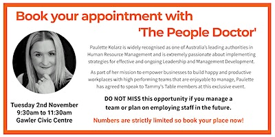 Book your appointment with 'The People Doctor'