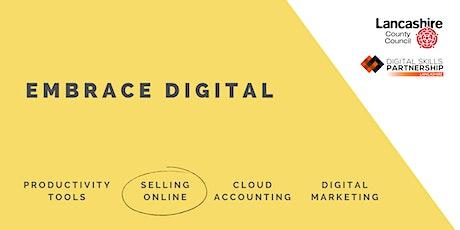 Intro to Squarespace | Embrace Digital (Lancashire) tickets
