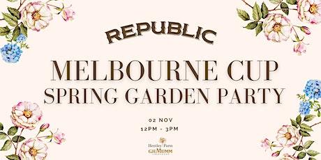 Republic Melbourne Cup Spring Garden Party tickets