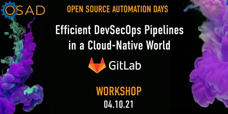 Efficient DevSecOps Pipelines in a Cloud-Native World tickets