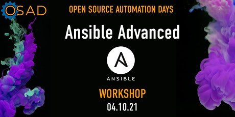 Ansible Advanced Workshop tickets
