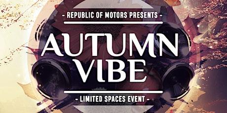 Autumn Vibe 2021 tickets