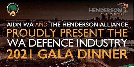 WA DEFENCE INDUSTRY GALA DINNER tickets