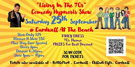 Living In The 70s Comedy Hypnosis Show tickets