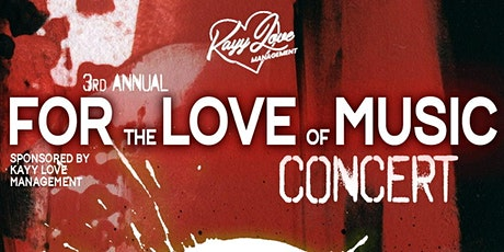 3rd Annual For the Love of Music Concert tickets