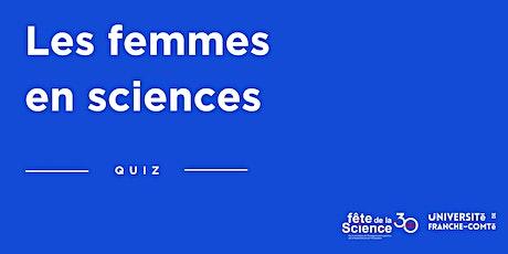 Quizz Les femmes en sciences billets