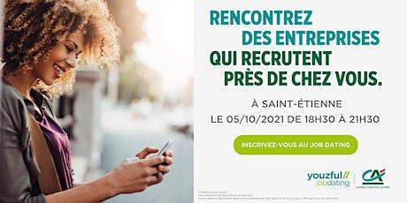 Job Dating à Saint-Etienne : décrochez un emploi ! billets