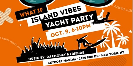 Island Vibes Yacht Party tickets