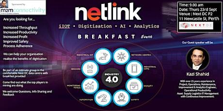 iIOT • Digitisation • AI • Analytics Breakfast tickets
