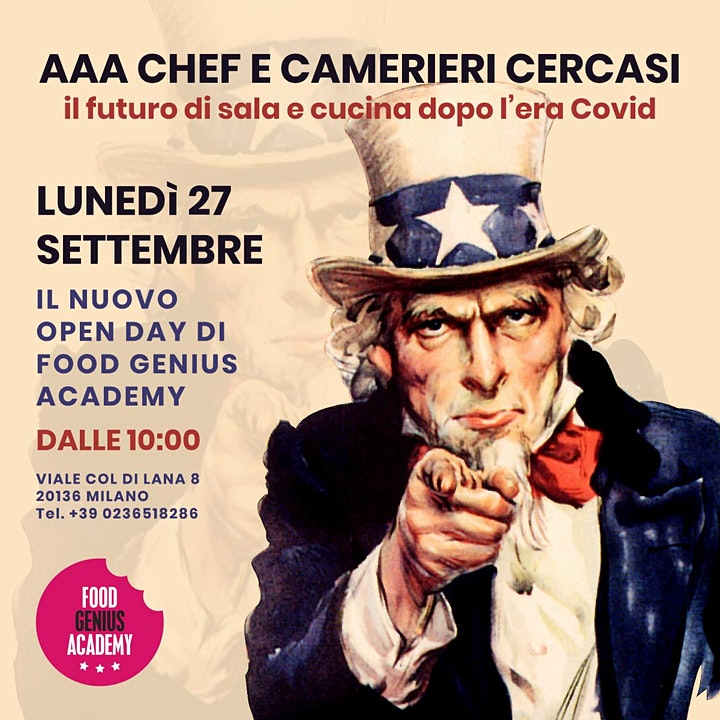 Immagine Open Day - We Want You