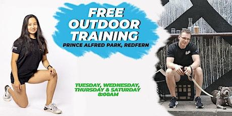FREE Outdoor Training (Prince Alfred Park, Redfern, Sydney CBD) tickets