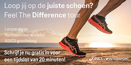 Feel the Difference Tour - Intersport Utrecht - 26 september tickets
