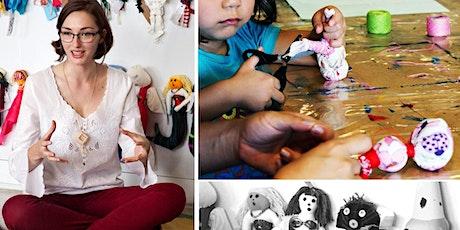 Doll making workshop for kids tickets