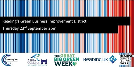 Reading's Green Business Improvement District tickets