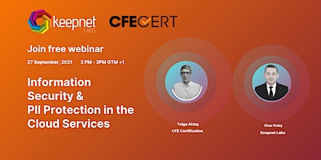 Free Webinar-Information Security & Protection in the Cloud Services tickets