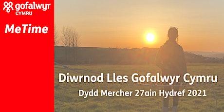 Diwrnod Lles Ar-Lein Gofalwyr Cymru tickets