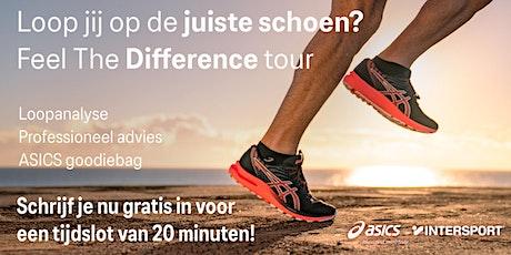 ASICS Feel the Difference Tour - Intersport Veldhuis Beverwijk - 16 oktober tickets