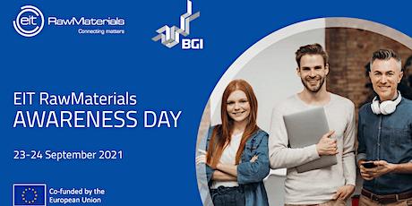 EIT RawMaterials Awareness Day bilhetes
