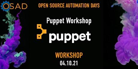 Puppet Workshop tickets