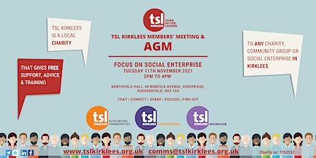 TSL Kirklees Members' Meeting and AGM tickets