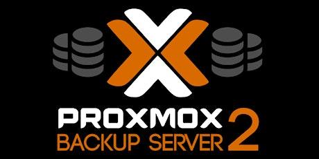 Proxmox Backup Seminario tickets