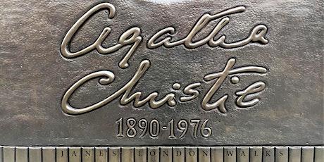 Virtual Tour - Agatha Christie's London tickets