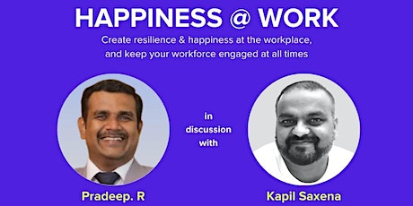 Happiness @ Workplace tickets