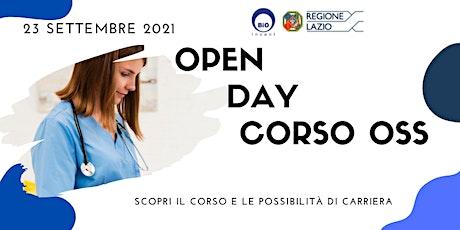 OPEN DAY CORSO OSS - QUALIFICA REGIONE LAZIO biglietti