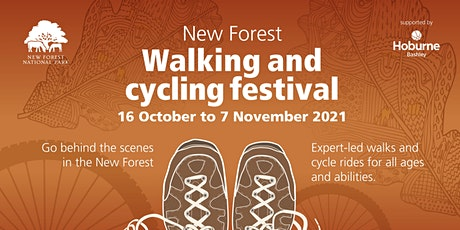Walking and Cycle Festival 2021: Five ways to Wellbeing in the New Forest tickets