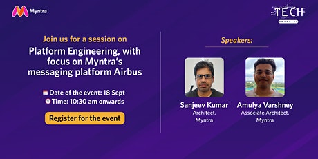Myntra's messaging Platform - Airbus tickets