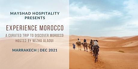 Experience Morocco hosted by Nezha Alaoui tickets