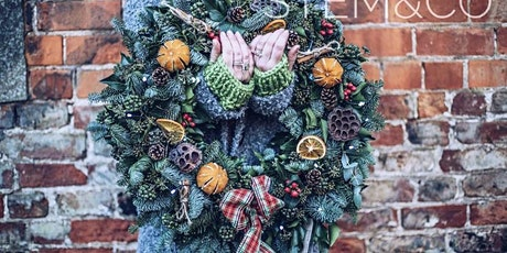 Christmas wreath making with Stem&Co tickets