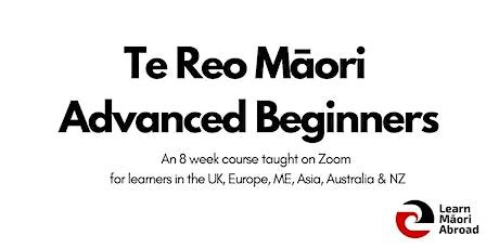 Te Reo Māori Advanced Beginners Course (8 weeks) tickets