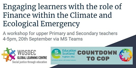 Countdown to COP: Exploring Finance and Climate Change tickets