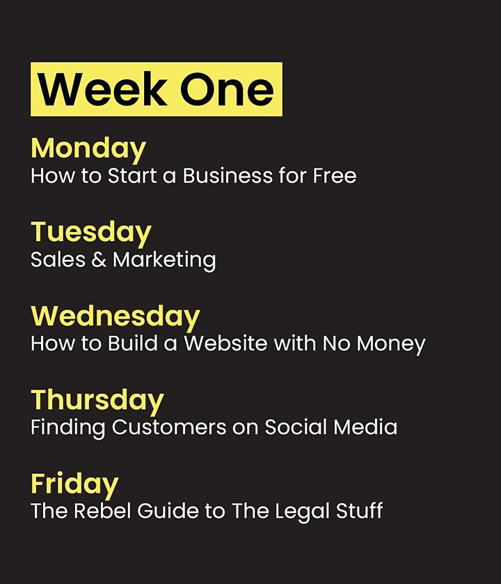 Hampshire - Online Business Course October 2021 image