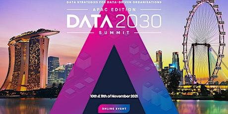 APAC Data 2030 Summit tickets
