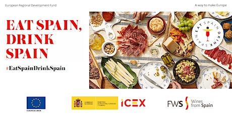 Eat Spain, Drink Spain Workshop LONDON tickets