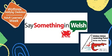 Say Something in Welsh 12 month account tickets