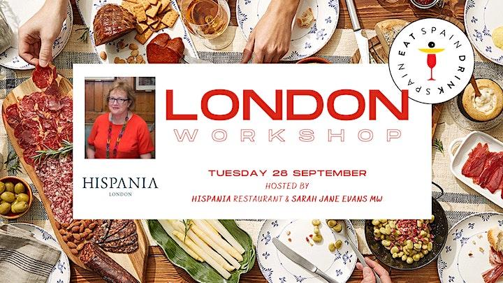Eat Spain, Drink Spain Workshop LONDON image
