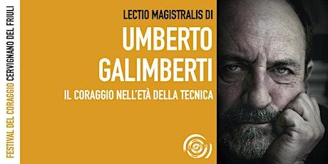 Umberto Galimberti al Festival del Coraggio biglietti