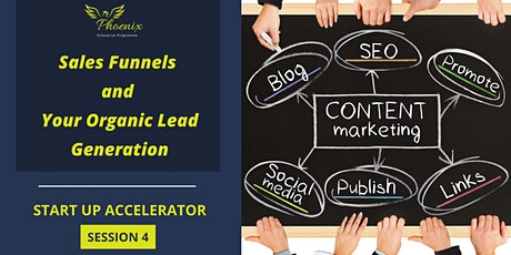 Sales Funnels and Your Organic Lead Generation tickets