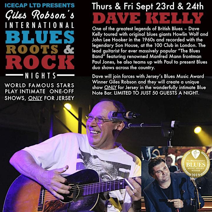 Icecap LTD Presents Giles Robson's International Blues, Rock & Roots Nights image