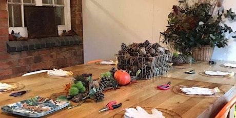 Autumnal wreath making tickets