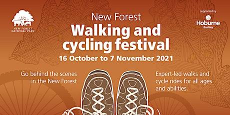Walking and Cycle Festival 2021: National Park Ranger walk at Ashurst tickets