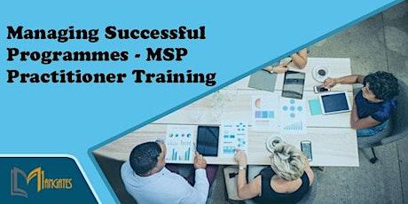 Managing Successful Programmes – MSP Practitioner 2Days Training in Preston tickets