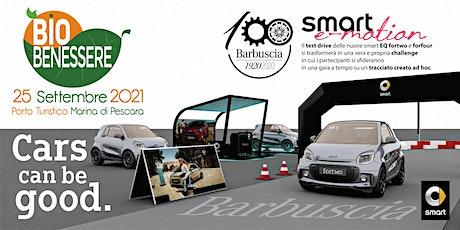 smart e-motion: Test Drive Barbuscia smart EQ fortwo e forfour biglietti