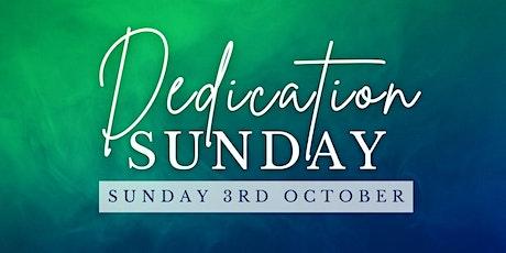 Dedication Sunday (with Kids Church) tickets