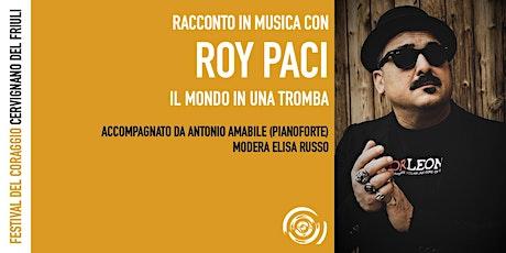 Roy Paci al Festival del Coraggio biglietti