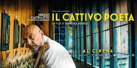 IL CATTIVO POETA Chiostro Palazzo della Cultura 22/09/2021 ore 20:00 biglietti