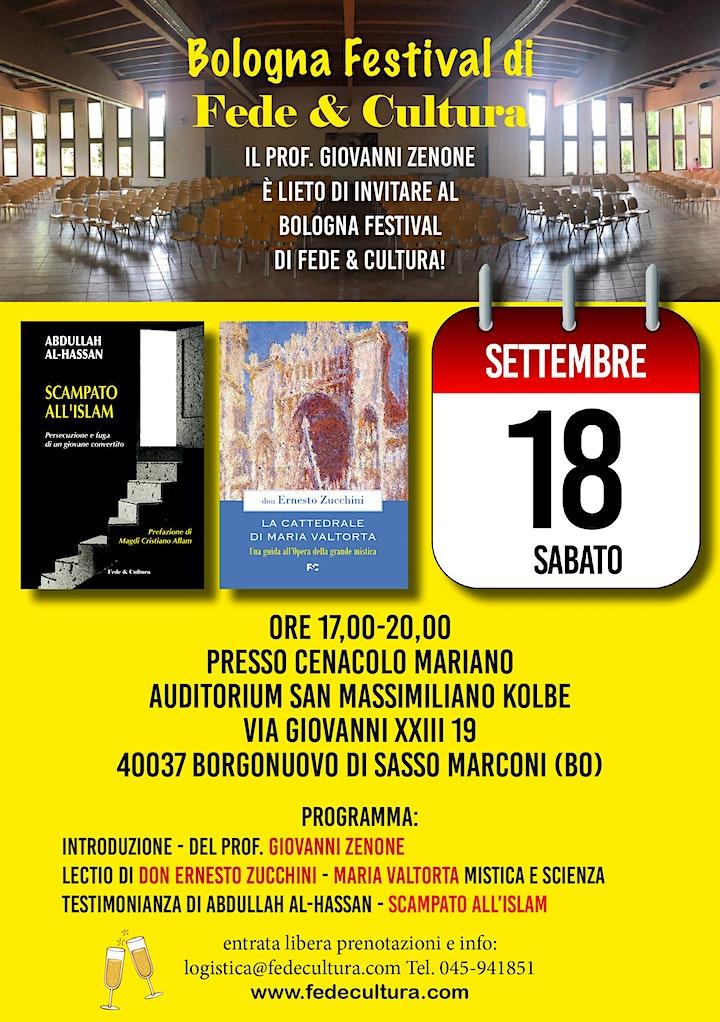 Immagine Bologna Festival di Fede & Cultura